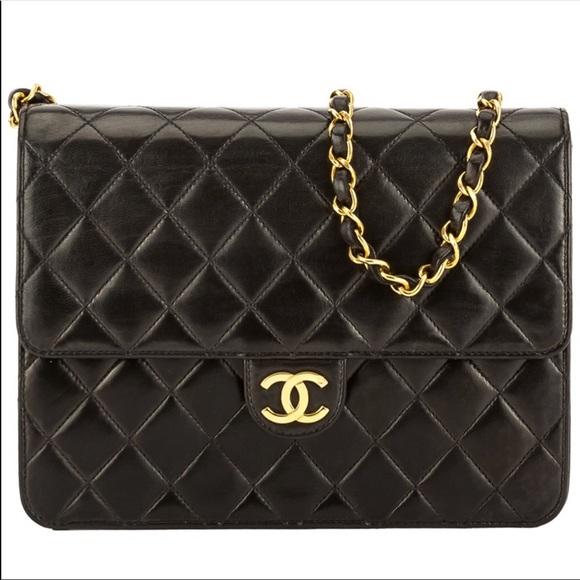 6facc06f9b72 CHANEL Handbags - Vintage WGACA Chanel Quilted Flap Bag
